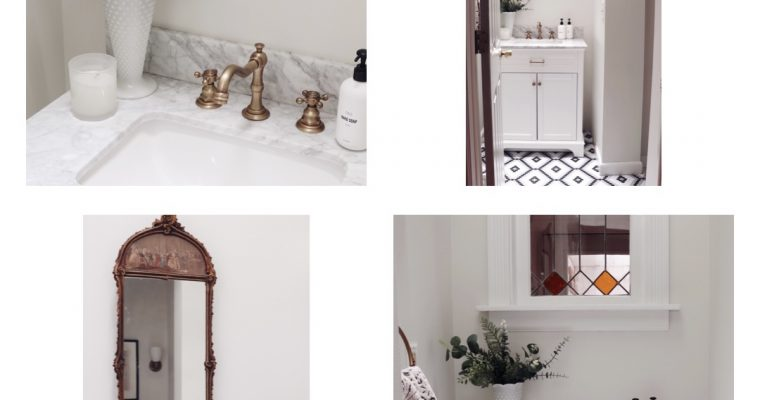 My Home Edit | Powder Room